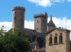 Fonds d'écran Voyages : Europe Le Chateau de Foix (Ariège)
