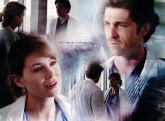 Wallpapers TV Soaps Derek and Meredith
