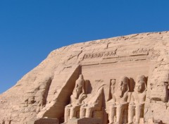 Wallpapers Trips : Africa Le Temple d'Abou Simbel