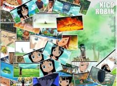 Fonds d'écran Manga Ruthay One Piece Nico Robin 01