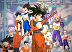 Fonds d'écran Manga les guerriers