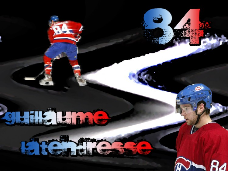 Wallpapers Sports - Leisures Hockey Guillaume Latendresse