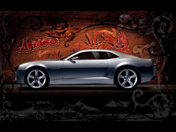 Fonds d'écran Voitures Chevrolet camaro concept