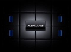 Fonds d'écran Informatique Blue alienware
