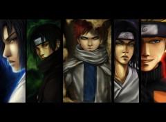 Fonds d'écran Manga .::Team::.