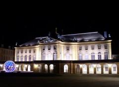 Fonds d'écran Voyages : Europe Metz - L'opéra illuminé_01