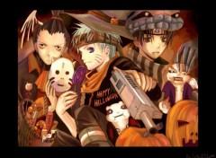Fonds d'écran Manga Halloween