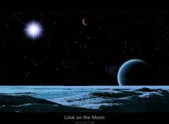 Wallpapers Space Un regard sur la lune