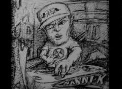 Fonds d'écran Art - Crayon Dj NANNI-K