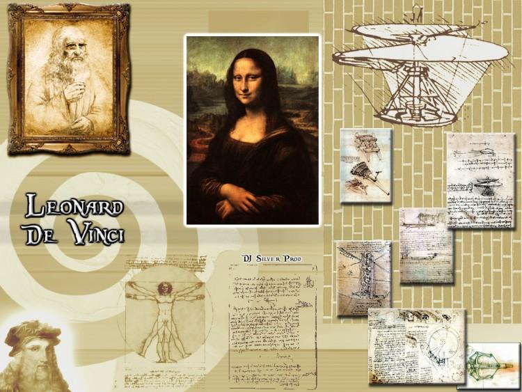 Fonds d'écran Célébrités Homme Léonard de Vinci Léonard de Vinci