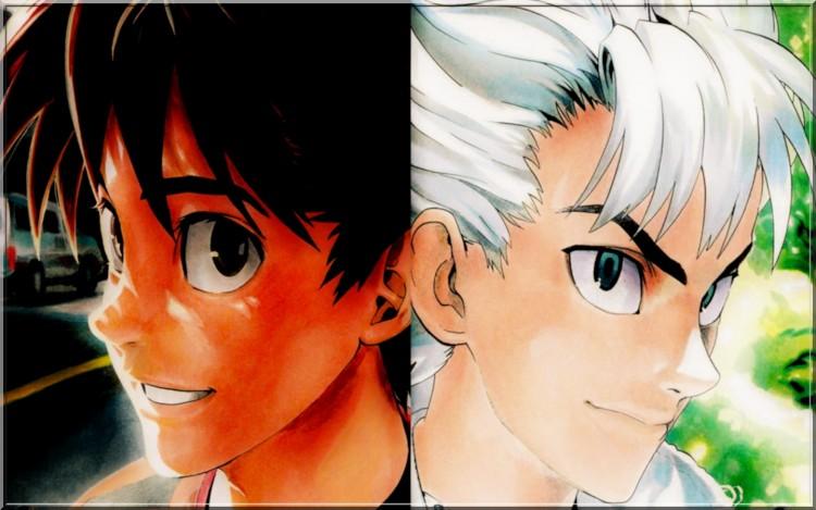 Fonds d'écran Manga Eyeshield21 sena/riku