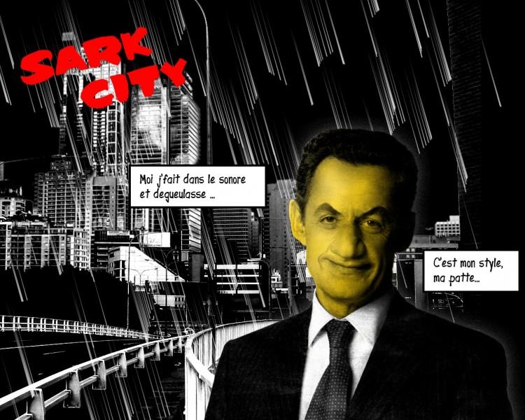Fonds d'écran Humour Parodies Sark city