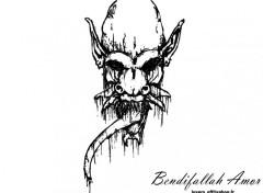 Fonds d'écran Art - Crayon devil in my life