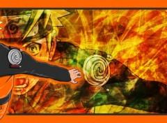 Fonds d'écran Manga Naruto Furax ! (Dual screen)