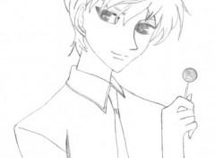 Wallpapers Art - Pencil Momiji adulte^^