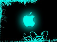 Wallpapers Computers Blue Apple