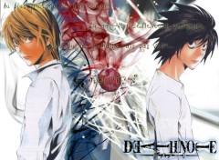 Wallpapers Manga Light VS L