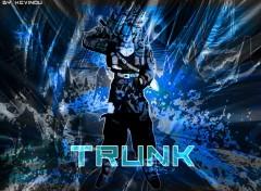 Fonds d'écran Manga Trunk_blue