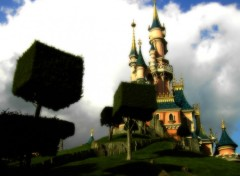 Fonds d'écran Constructions et architecture Chateau Disney