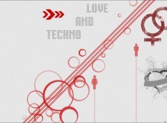 Wallpapers Music Love and techno