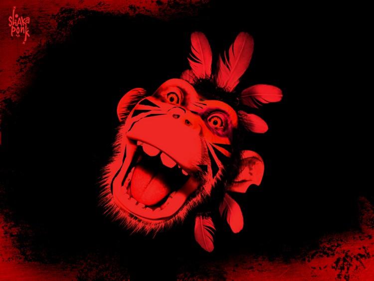 Fonds d'écran Musique Shakaponk Red Goz