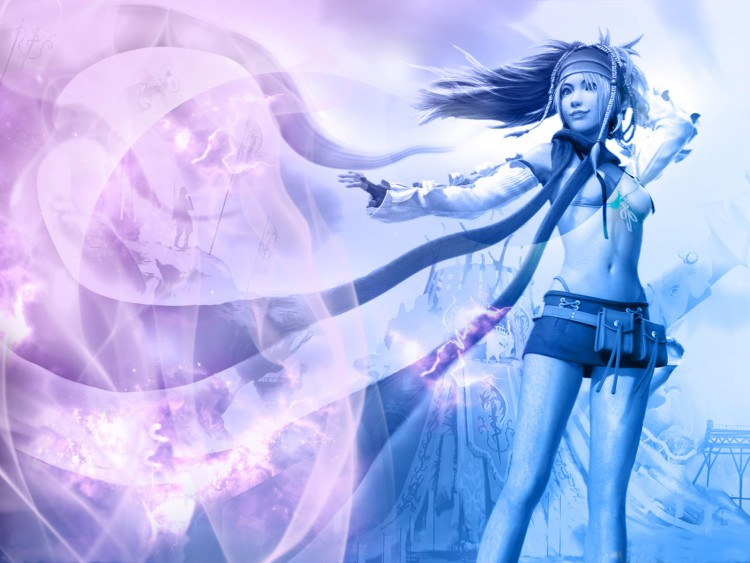Fonds d'écran Jeux Vidéo Final Fantasy X Rikku in the wind