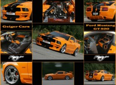 Wallpapers Cars Ford Mustang - GT-520 (Geiger Cars 2007)