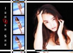 Fonds d'écran Célébrités Femme Ishika Sae