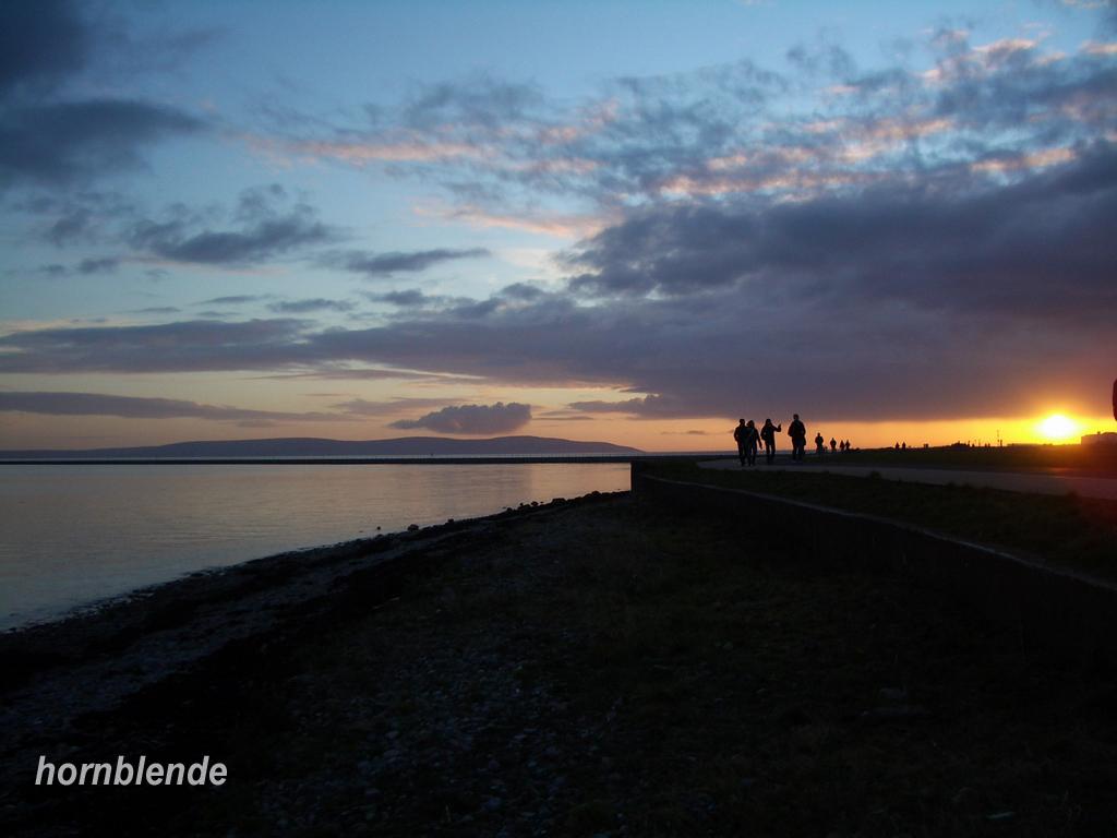 Fonds d'écran Nature Couchers et levers de Soleil Coucher de soleil à Galway