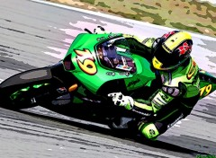 Wallpapers Motorbikes OJ paint'