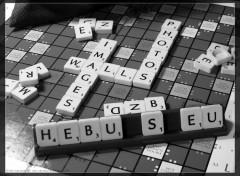 Fonds d'écran Objets Une partie de Scrabble