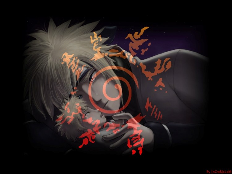 Fonds d'écran Manga Naruto le 4éme et naruto