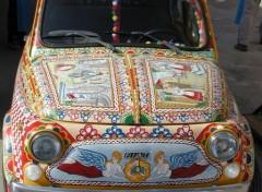 Wallpapers Cars Fiat 500 en Sicile 1