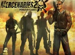 Fonds d'écran Jeux Vidéo Mercenaries
