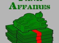 Fonds d'écran Humour Tank affaires