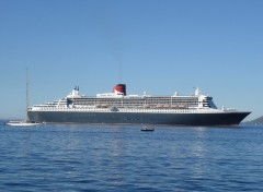 Wallpapers Boats Queen Mary 2