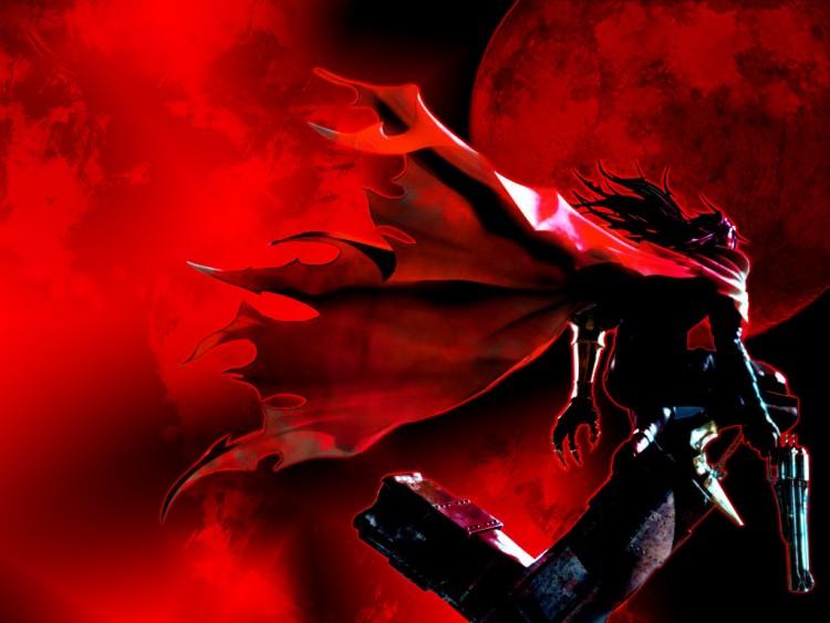 Fonds d'écran Jeux Vidéo Dirge of Cerberus Under the blood moon