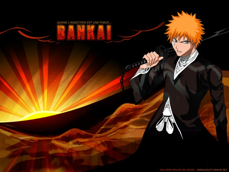 Fonds d'écran Manga Bleach Addict Bankai