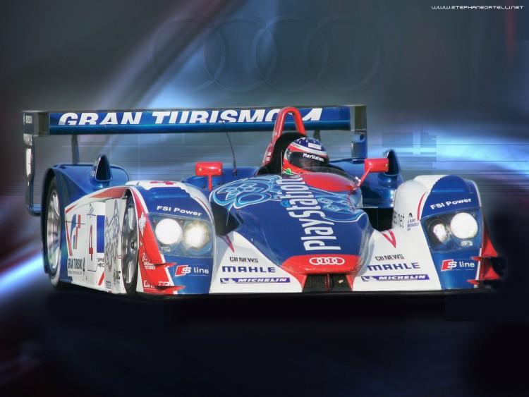 Fonds d'écran Sports - Loisirs 24 Heures Du Mans Audi R8 oreca