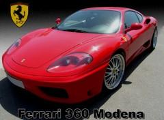 Fonds d'écran Voitures Ferrari 360 Modena