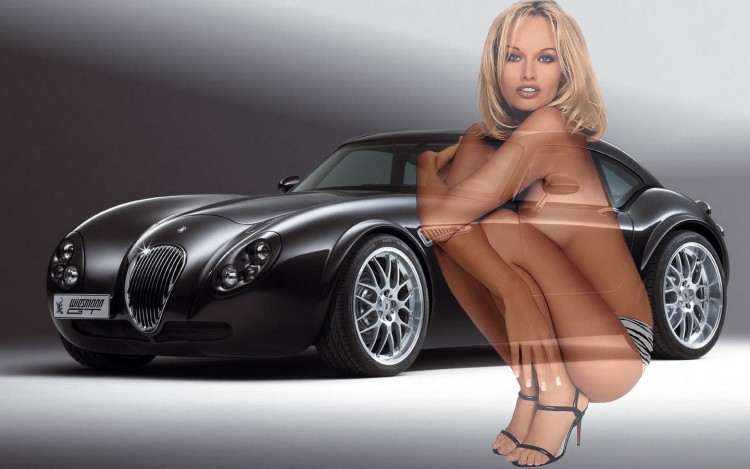 Wallpapers Cars Girls and cars Belles carrosseries