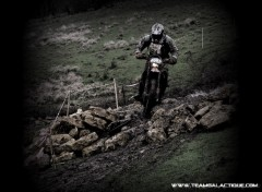 Fonds d'écran Motos TeamGalactique Enduro