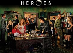 Fonds d'écran Séries TV Heroes cast