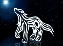 Wallpapers Fantasy and Science Fiction Moon's Wolf