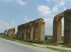 Wallpapers Trips : Africa l'aqueduc de Zaghouan Tunisie