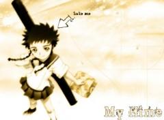 Fonds d'écran Manga Hate me.