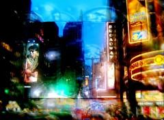 Wallpapers Trips : North America lumières de Broadway