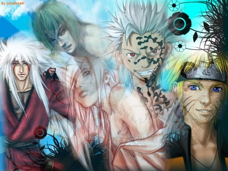 Fonds d'écran Manga Naruto Vrac'