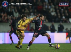 Wallpapers Sports - Leisures psg-Athenes