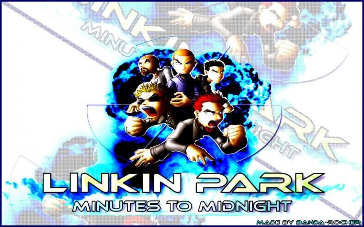 Fonds d'écran Musique Linkin Park Minutes to midnight